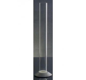 "12"" PLASTIC HYDROMETER TEST JAR WITH SCREW OFF BASE"